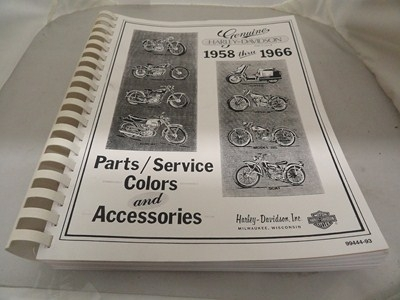 SERVICE & PARTS BOOK