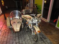 1977 FLH MOTORCYCLE