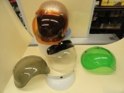 BUBBLE SHIELDS AND VISORS