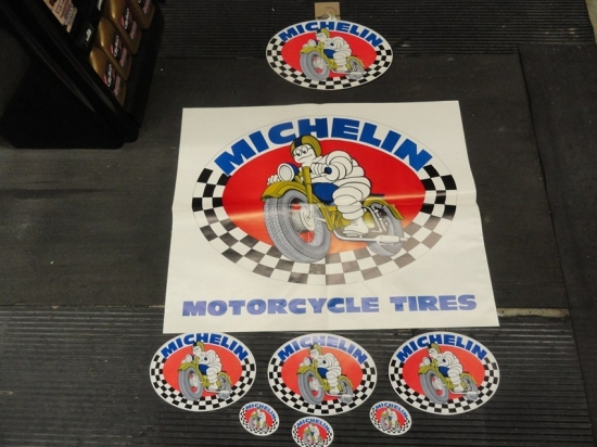 ASSORTED POSTERS AND DECALS