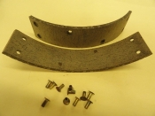 BRAKE LININGS WITH RIVETS