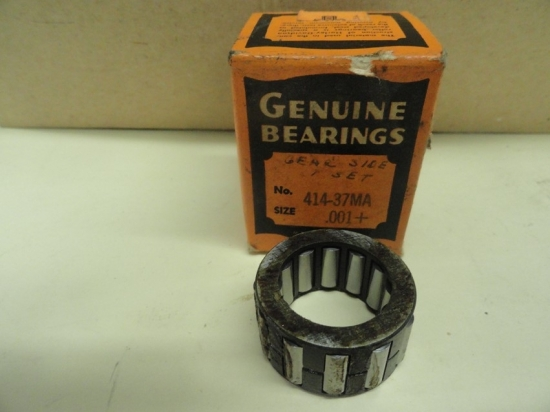 BEARINGS AND CAGES