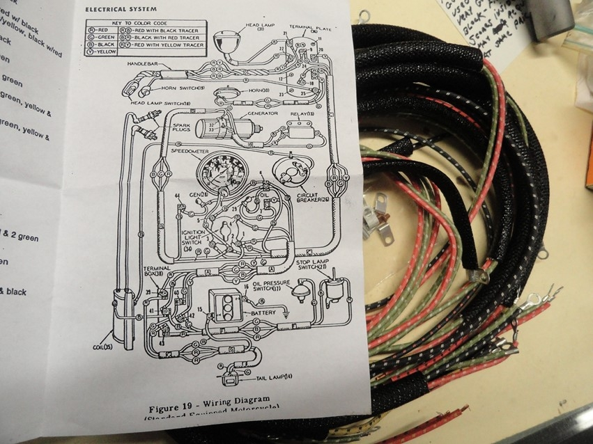 cycle electrics panhead wiring diagram wire harness bill s custom cycles  wire harness bill s custom cycles