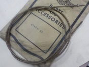 """SERVICAR """"NEW OLD STOCK"""" 1957 to 62 SPEEDOMETER INNER CABLE #67056-57"""