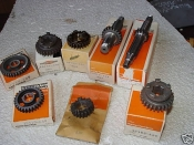"X-90 & Z-90 ""NEW OLD STOCK"" SET OF TRANSMISSION GEARS & SHAFTS"