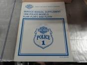 POLICE MODELS MANUAL SUPPLEMENT