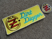 DIRT DIGGER VINTAGE PATCHES