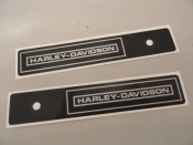 SADDLE BAG LID DECALS ''REPRO''