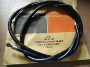 CLUTCH & BRAKE CABLE