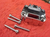 "FL FX SPORTSTER ""NEW"" 1972 CHROME HANDLE BAR SWITCH COVER HORIZONTAL #71539-72"