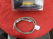 "FX FL ""NEW"" REAR BRAKE HOSE STAINLESS #08915"