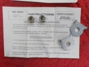 "SHORTSTER ""NEW OLD STOCK"" FRONT AXLE SAFETY KIT #41556-72"