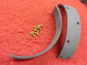 "45 ""NEW"" SOLO BRAKE LINING & RIVETS #44849-41"