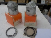 "SPORTSTER ""NEW OLD STOCK"" SET OF .060 PISTONS 1957-69 #22258-58A"