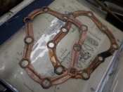 "VL-UL-ULH ""NEW"" 1936-48 COPPER HEAD GASKETS #11-36A"