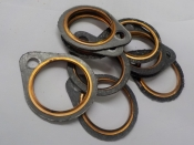 "SHOVELHEAD ""NEW"" EXHAUST GASKETS #65834-68"