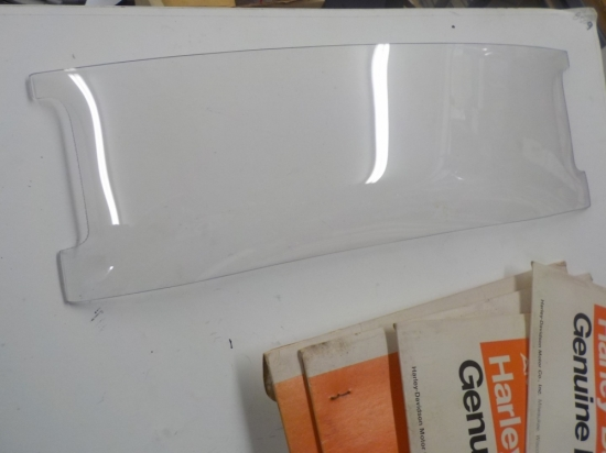 "PANHEAD ""NEW"" ADJUSTIBLE CLEAR WINDSHIELD #58027-49"