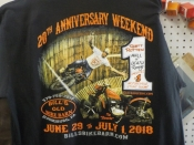 20th Anniversary Weekend Commemorative T-shirt