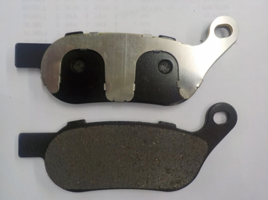 "SOFT TAIL FAT BOY ""NEW REPO"" BRAKE PADS REAR 2008 TO 2017 #42298-08"