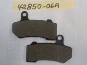 "ROAD KING ELECTRA GLIDE ""NEW REPO"" FRONT & REAR BRAKE PADS #42850-06A"