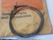 "AERMACCHI TX 125 ""NEW OLD STOCK IN PGK"" 1973 INNER SPEEDOMETER CABLE #67020-73"