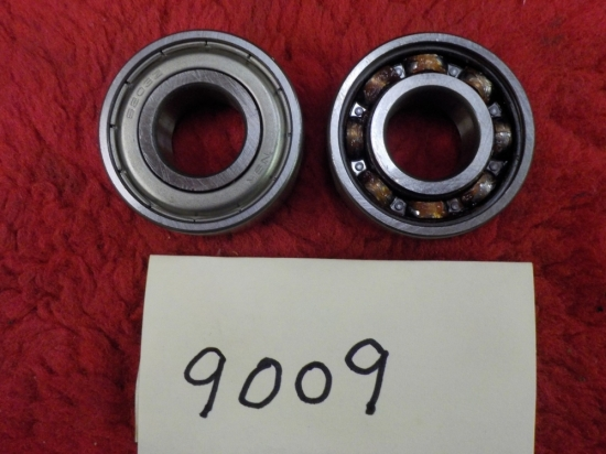 "SPORTSTER FX ""NEW"" SINGLE SHIELD WHEEL BEARINGS FRONT #9009"