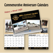 50TH ANNIVERSARY COMMEMORATIVE CALENDAR 2020