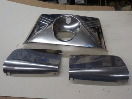 "PANHEAD ""REPO"" FORK COVER TINS -- STAINLESS #46273-49"